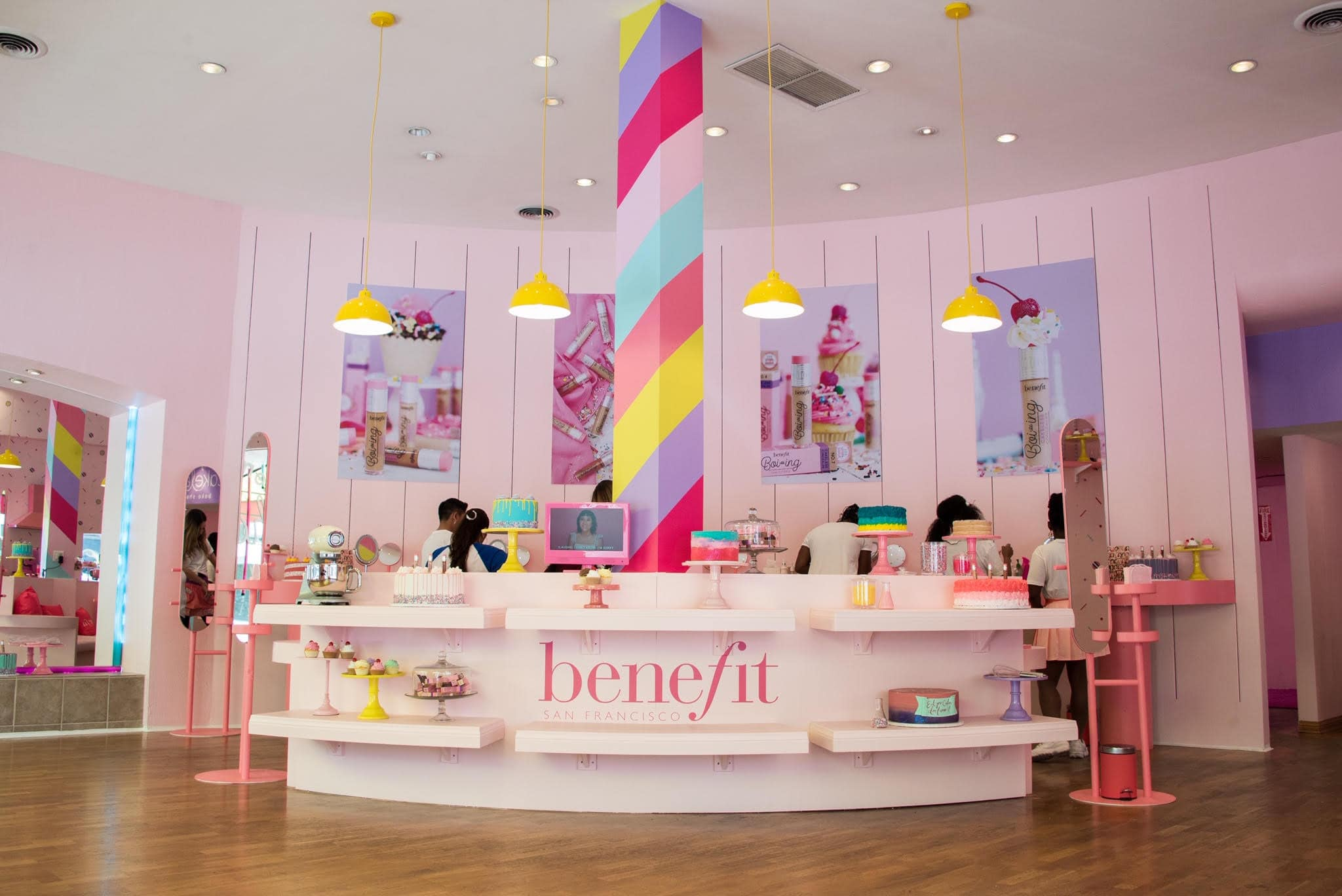 Blog Content: Benefit Cosmetics Uses Pop Up WiFi For LA Po Up Shops