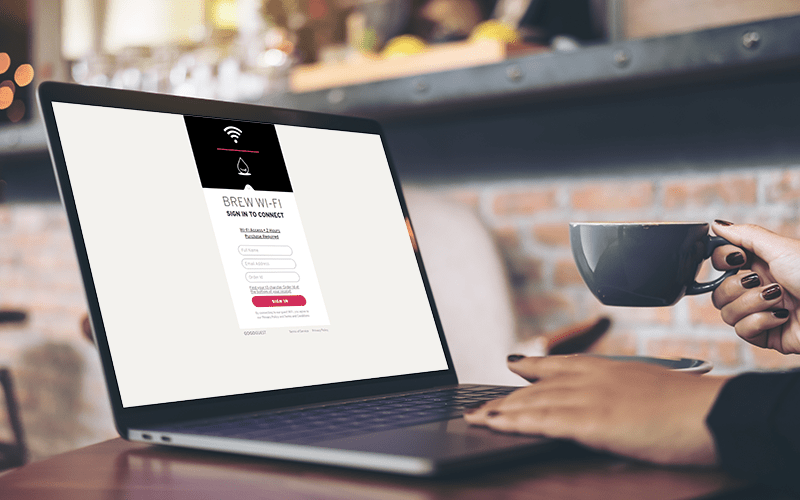 GoGoGuest WiFi Marketing for coffeeshops, cafes, restaurants, craft breweries, bars and retailers